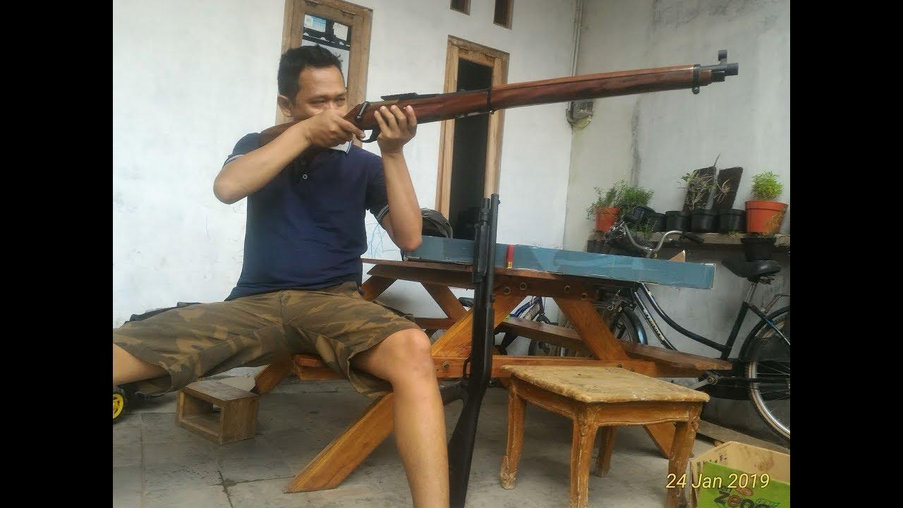 Homemade Mosin nagant  Boltaction airsoft sniper rifle