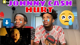 FIRST TIME HEARING  Johnny Cash - Hurt (Official Music Video) REACTION