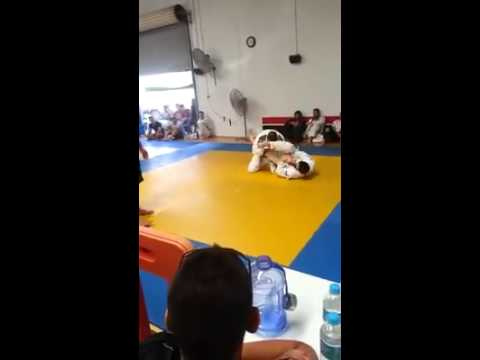 Adam Jacques Flying armlock - Perth city open December 2014