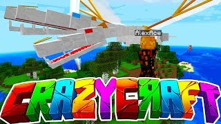The NEW CRAZY CRAFT 4 IS HERE! (Minecraft)