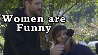 Women are funny