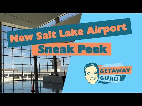 Sneak Peek At The New Salt Lake City Airport