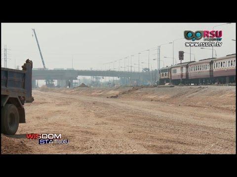 ชุมชนย่านรังสิตร้อง รถไฟสายสีแดงปิดทางเข้า-ออก