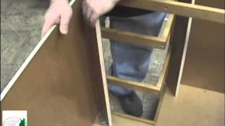 Silver Creek Cabinets Corner Drawer Base - Soft Close Drawer Glides