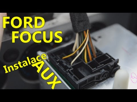 instalace-aux-kabelu-|-rádio-6000-cd-|-ford-focus-mk2-|-fanouškovské-video-by-pixelanimal