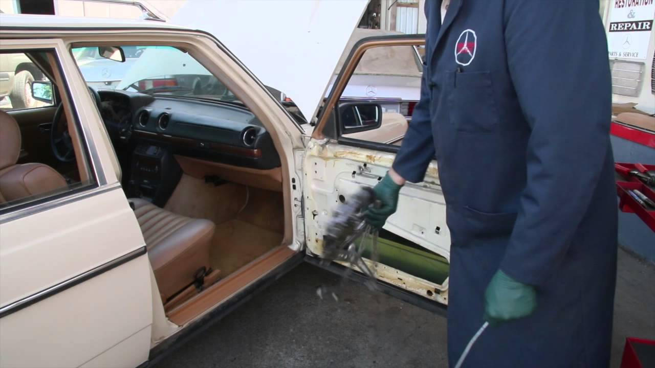 small resolution of problems inside mercedes door 1975 to 1995 benz series part 17 w kent bergsma youtube