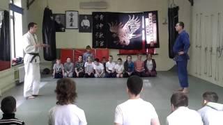 Открытый урок по айкидо и джиу джитсу в Климовске