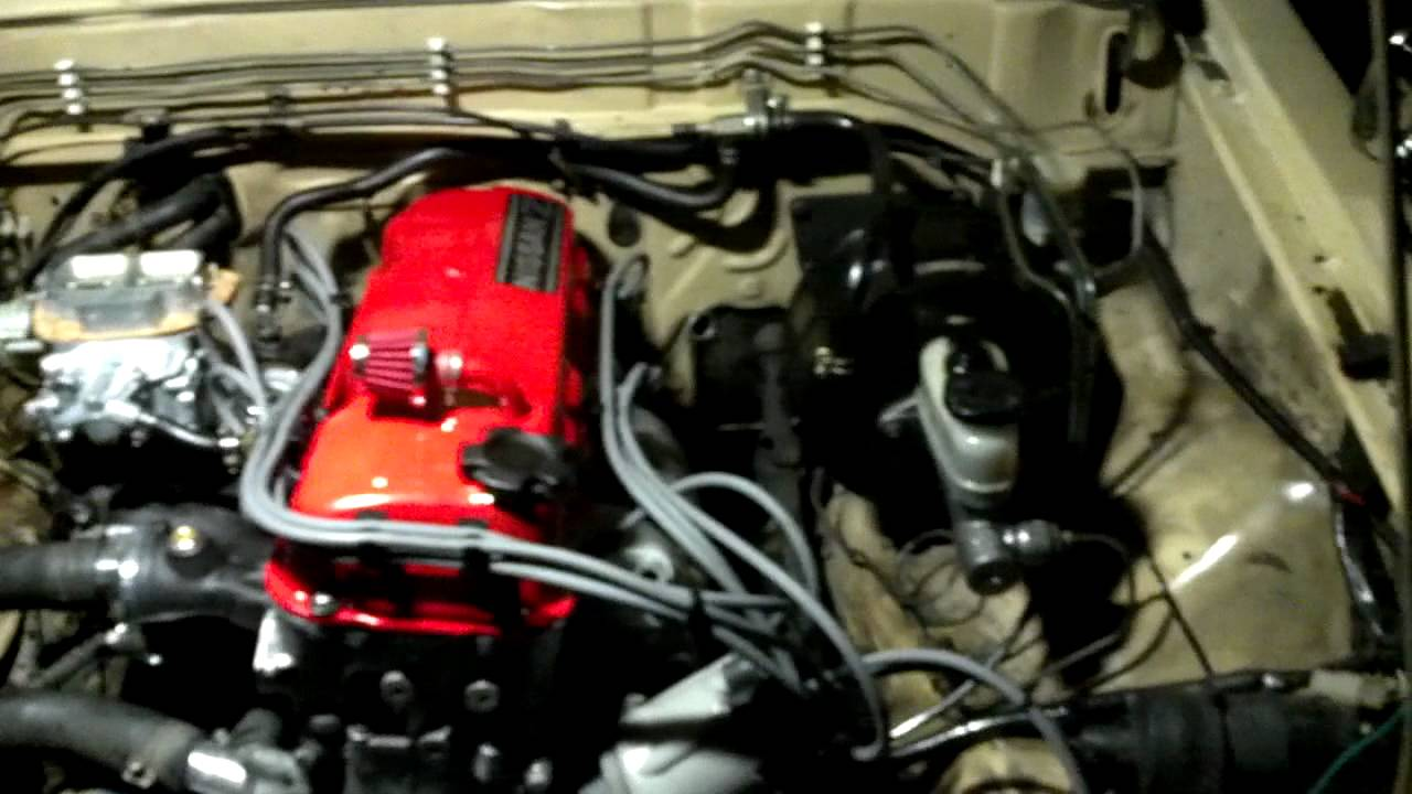 720 z24 Weber Nismo first start up - YouTube