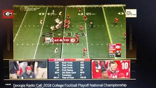 Hack UGA radio guy receives instant karma in the CFP Championship game