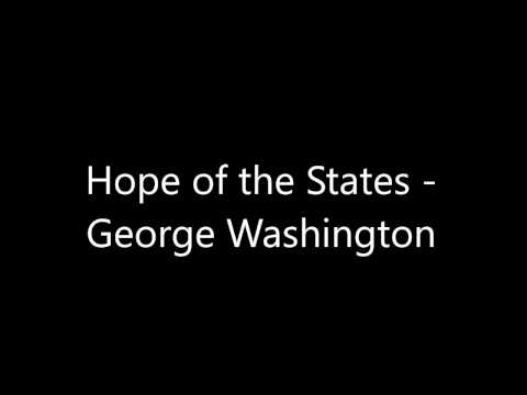 George Washington by Hope of the States