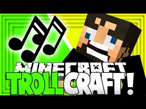 Minecraft: TROLL CRAFT    DERP SSUNDEE SINGS [29]