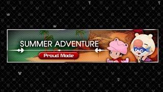 [KHUX] Kingdom Hearts Union χ[Cross] Summer Adventure Event Proud Mode! Day 1-10