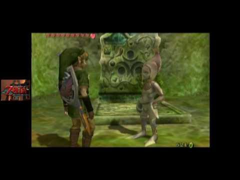 Zelda: Twilight Princess [GC] (No Commentary) #037, Bridge Repair Fund; Kakariko Gorge Cave