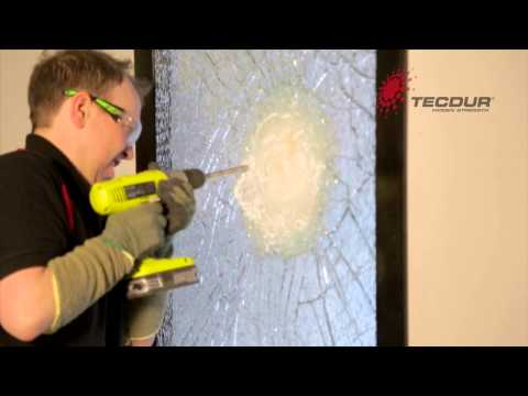 Tecdur® enhanced security glass