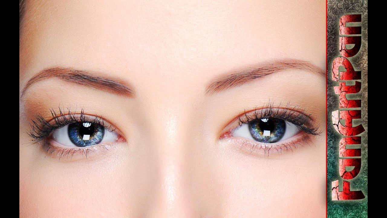 УРОКИ ФОТОШОПА. Обработка глаз в фотошопе: удивительный взгляд. Красивые глаза в фотошопе.