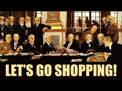 Treaty of Versailles Shopping Spree (AP European History)