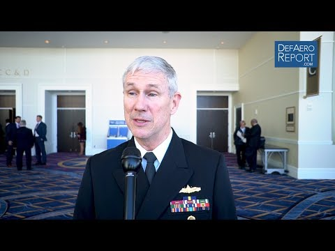NAVSEA Commander Moore on Potential 2-Ship Ford-Class Aircraft Carrier Buy, Ship-Repair Backlog