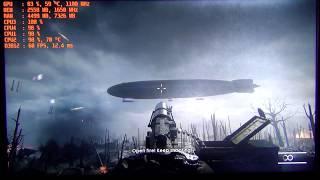 Тест Battlefield 1 на Xeon E5440 + AMD HD7970 или Q9550 + R9 280x