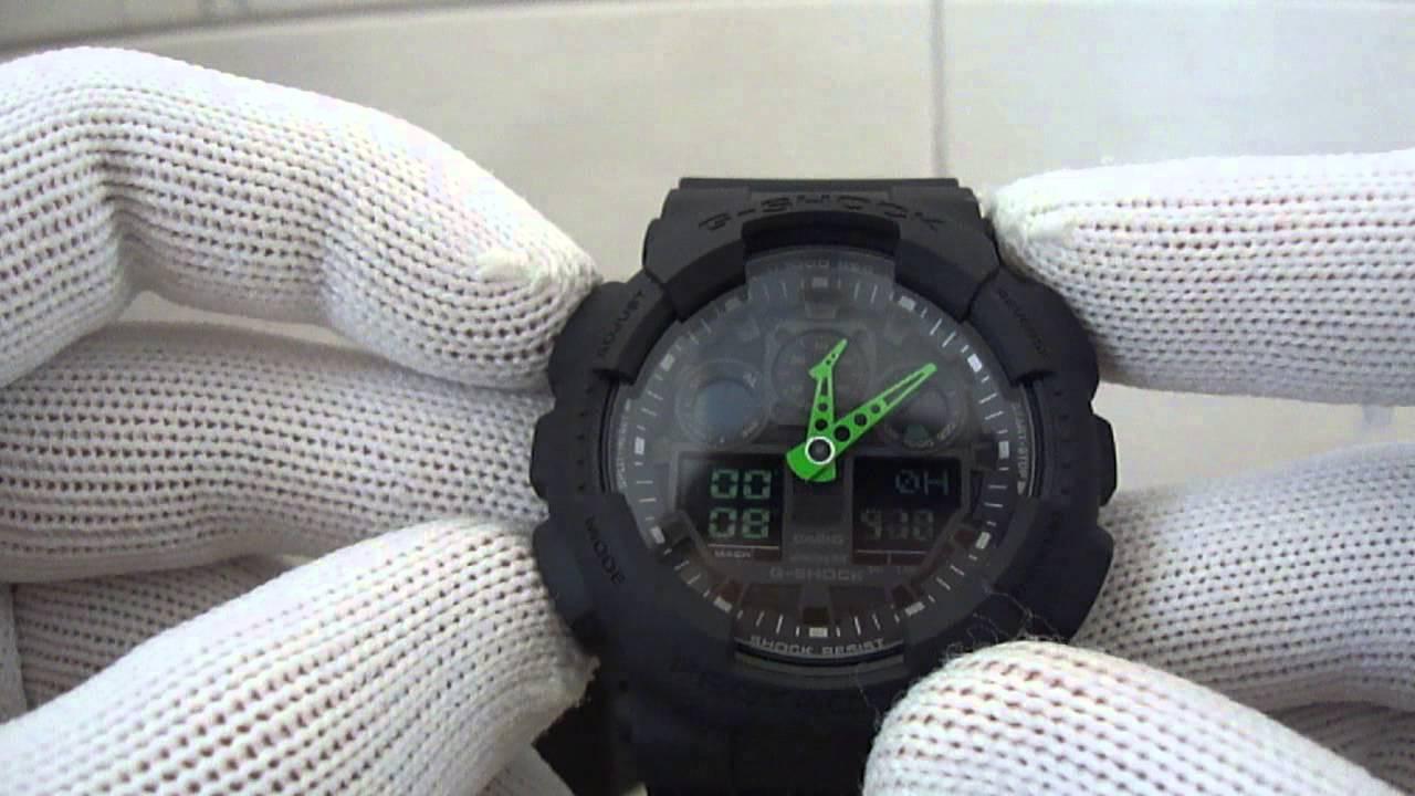 bc649e6f143 Casio G-Shock GA-100C-1A3 - ORIGINAL. Jr Relogios
