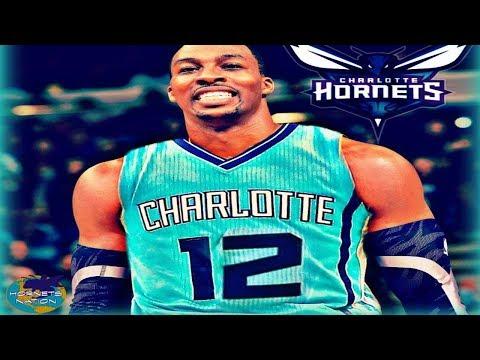 Atlanta Hawks Trade Dwight Howard to Charlotte Hornets For Miles Plumlee + Draft Picks - NBA Trade