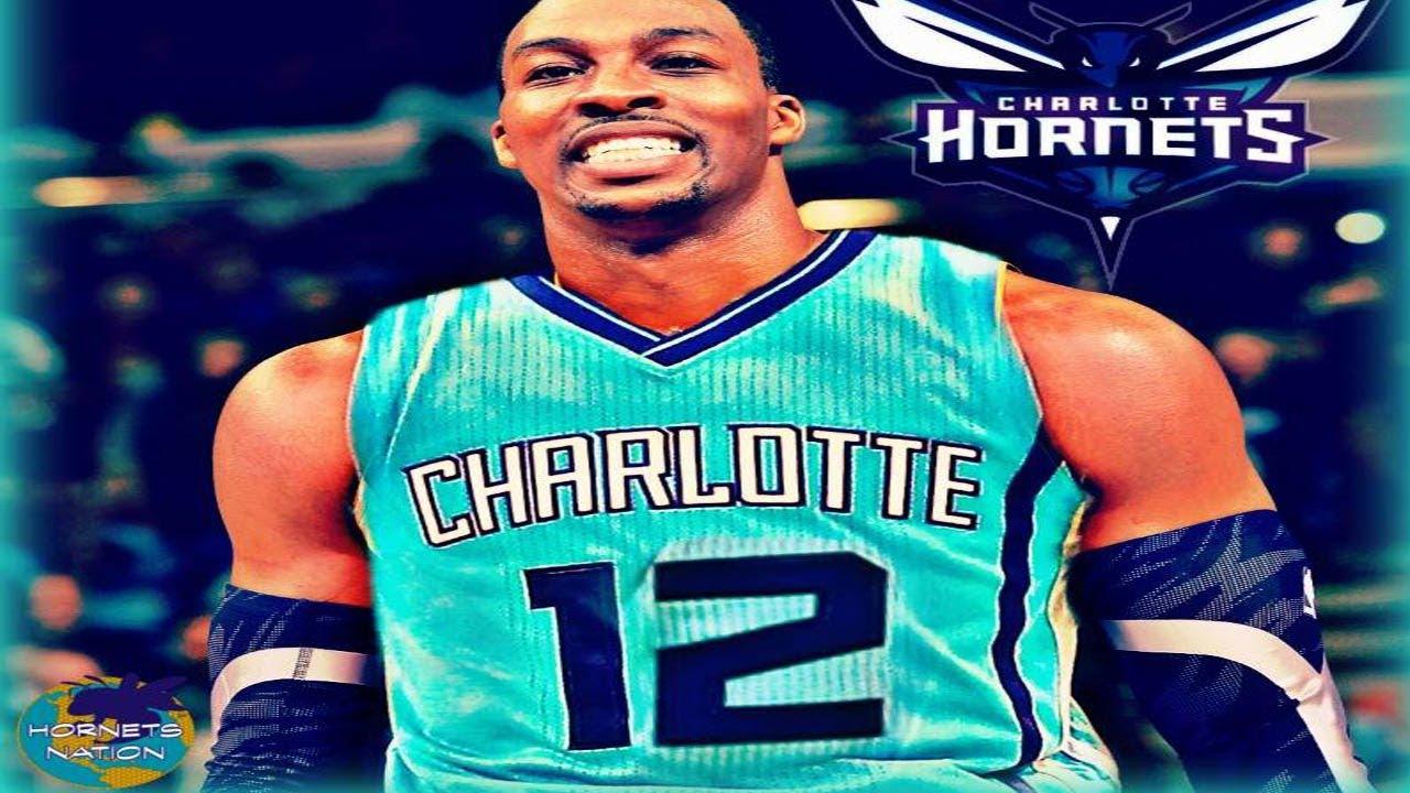 the best attitude 4ab9b 9d6f4 Atlanta Hawks Trade Dwight Howard to Charlotte Hornets For Miles Plumlee +  Draft Picks - NBA Trade