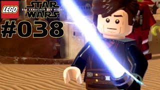 Let's play lego star wars das erwachen der macht/the force awakens auf deutsch 100% ps4 mit lenn16 und drachenbursche.level: d'qar, jakkualle leg...