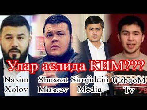 #UZBOOMTV#SHUXRATMUSAEV#NASIMXOLOV#SIROJIDDINMEDIA