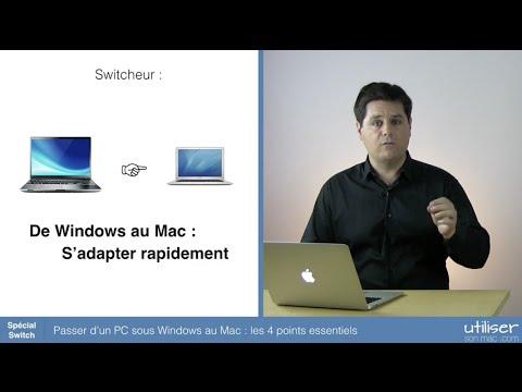 Passer d'un PC sous Windows au Mac : les 4 points essentiels