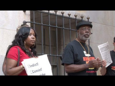 Protestors Demand Conviction of Officer in Freddie Gray Case
