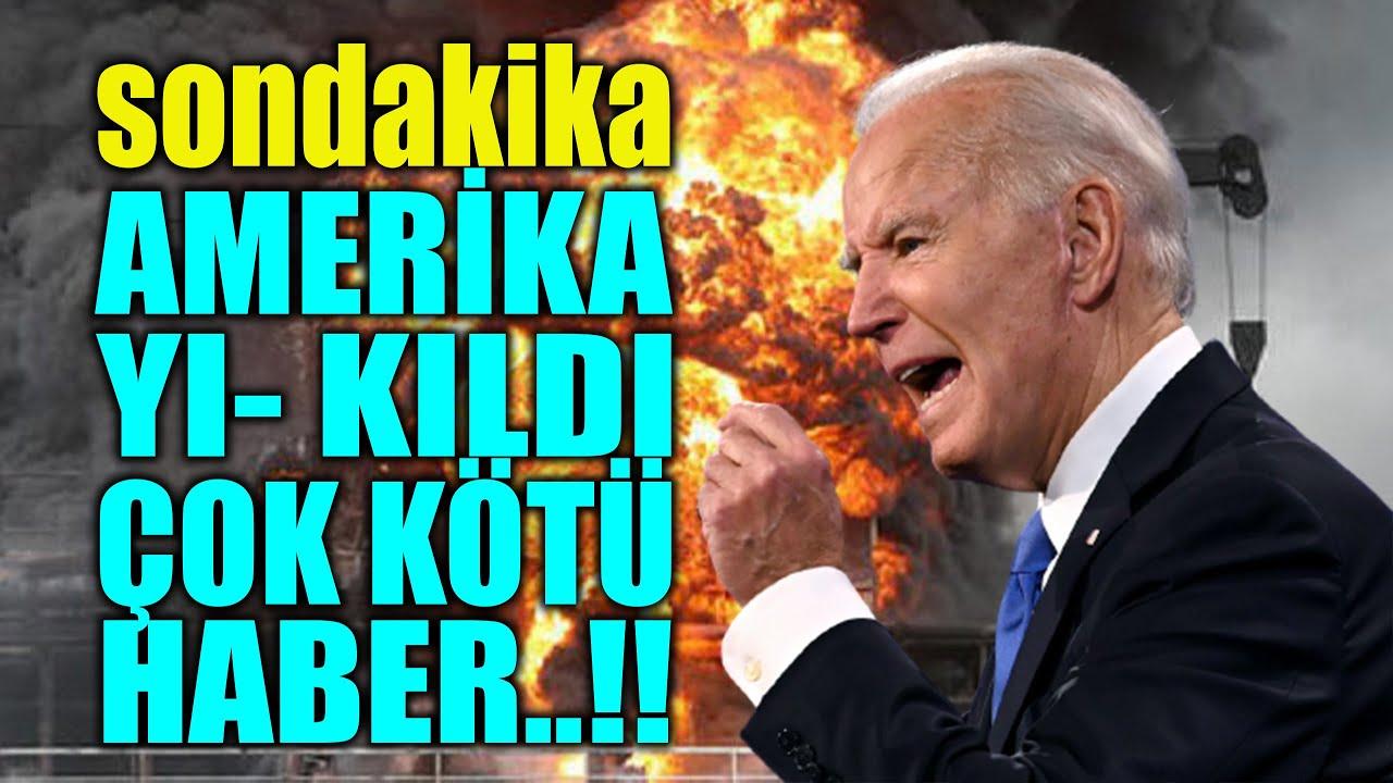 #sondakika  AMERİKA ÇOK KÖTÜ HABER..!! RESMEN YI- KILDI..!!
