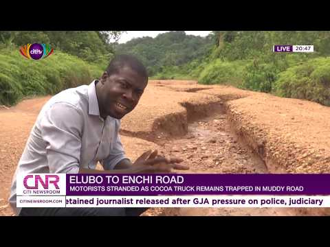 Elubo-Enchi Cocoa muddy roads making life difficult for rural dwellers