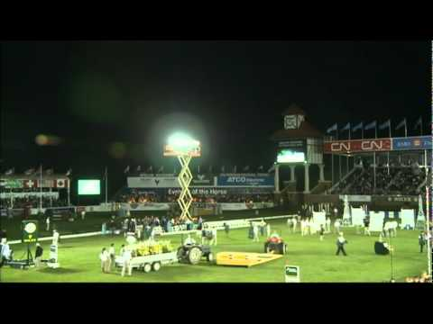 Spruce Meadows 2011 | Tim Stockdale and Fresh Direct K2 Win Six Bar | HorseandRider UK