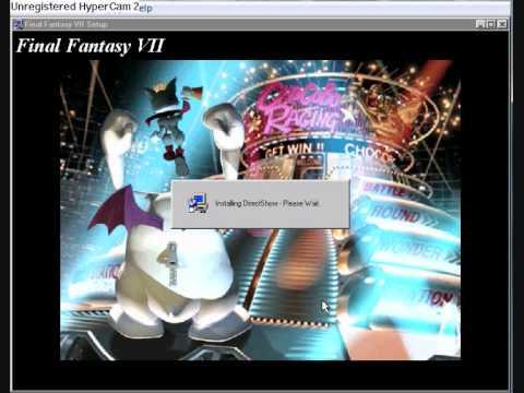 installing final fantasy VII on win98 virtual pc under vista