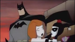 Batman & Static vs Poison Ivy & Harley Quinn