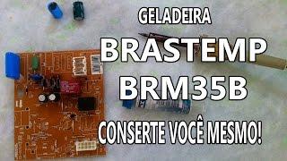 Geladeira Brastemp BRM35B desregulada - conserte você mesmo