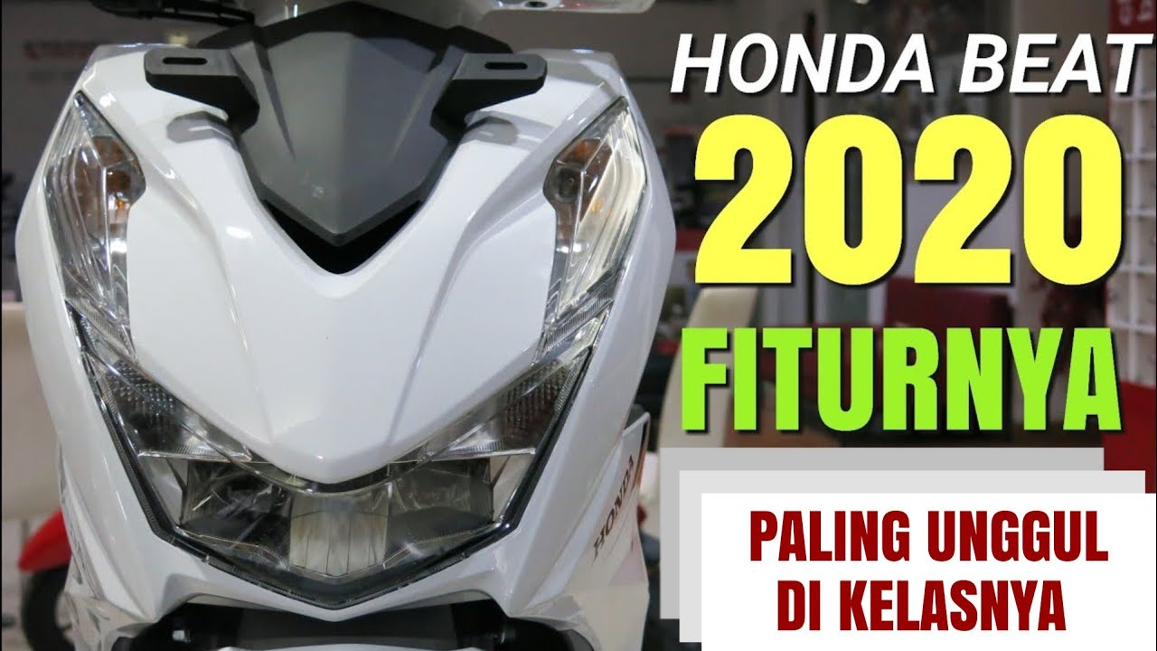 Honda Beat 2020 Review Harga Youtube