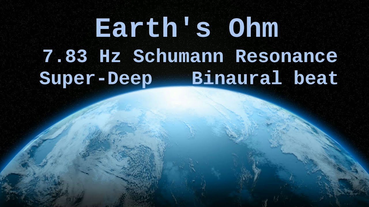 Download Earth's Ohm, 7.83 Hz Deep Theta Binaural Beat ( Schumann Resonance for 12 Hours )