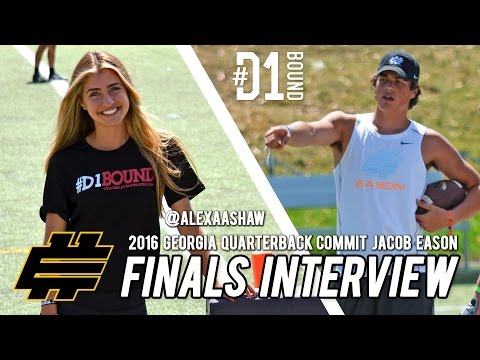 Elite 11 Finals (2015): Georgia QB commit Jacob Eason (Beaverton, OR) CollegeLevelAthletes.com