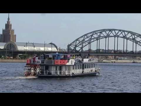 Riga City ''view from Daugava river''