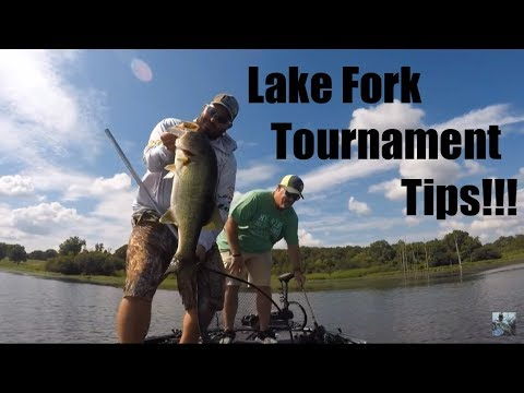 Lake Fork Bass Fishing Tournament Technique Tips Youtube