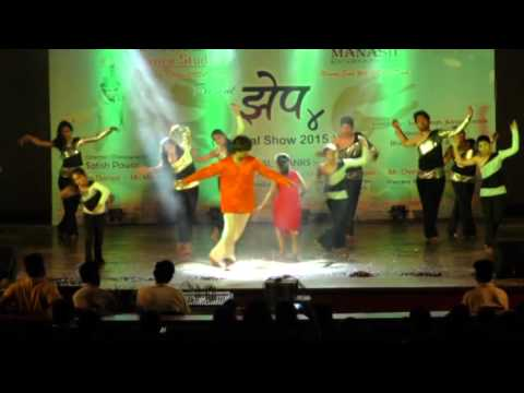 Jiya Lagena Contemporary Dance by Satish Pawar With Unbeatable's Dance Crew Annual day 2015 Zhep 4