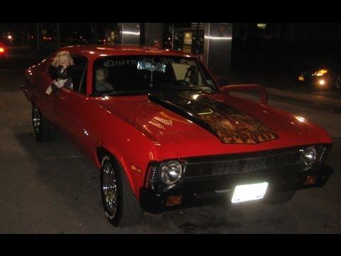 Red Hot 72' Chevy Nova