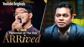 A. R. Rahman | Ajay Tiwari | Performer Of The Day | #ARRivedSeries