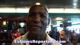 Bernard Hopkins Message To Floyd Mayweather Jr. - Esnews Boxing