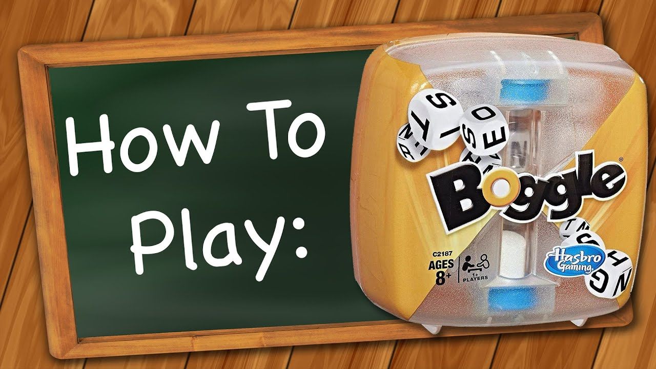 How to play Boggle
