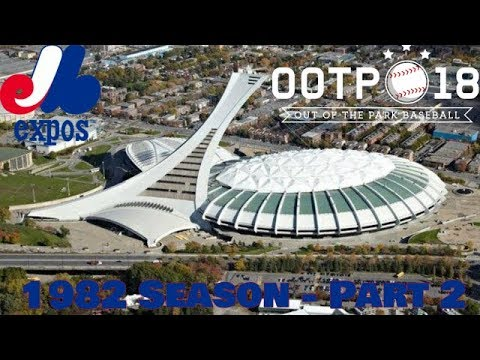 Montreal Expos Franchise - 1982 Season - Part 2
