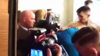 MMA Champ Conor McGregor Supporting Boxing Star Michael Conlan EsNews Boxing