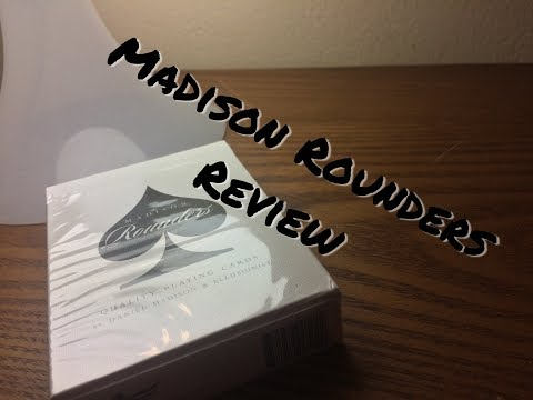 Madison Black Rounders Deck Review