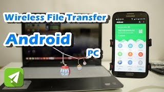 Wireless file transfer to PC by Airdroid App   #02 ANDROID HACKS