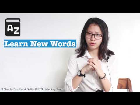 """iTalk Series: """"3 simple tips for a better IELTS listening band"""""""